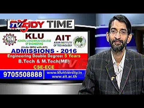 Engineering in KL University & & AIT University | Study Time | TV5 News