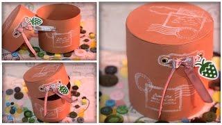 Коробочка для подарка или шкатулка из бумаги/ картона(Как легко и быстро сделать своими руками красивую и стильную коробочку для подарка или шкатулку из бумаги/к..., 2016-08-09T16:27:01.000Z)