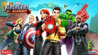 MARVEL Avengers Academy (iOS/Android) Gameplay HD