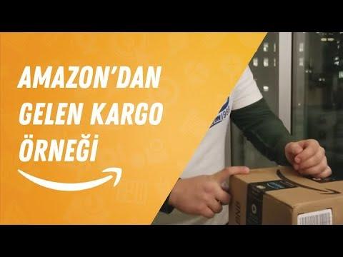 Amazon'dan gelen kargo örneği (Potansiyel rakipler ürünü nasıl gönderiyor?)