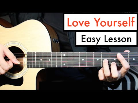 Love Yourself - Justin Bieber - Guitar Lesson (Tutorial) Chords ...