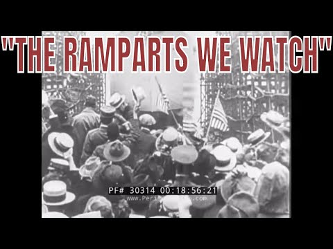 """RKO RADIO PICTURES """"THE RAMPARTS WE WATCH""""  UNITED STATES 1914-1918  WORLD WAR I  REEL 3 30314 thumbnail"""