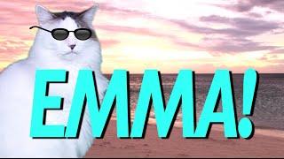 Скачать HAPPY BIRTHDAY EMMA EPIC CAT Happy Birthday Song