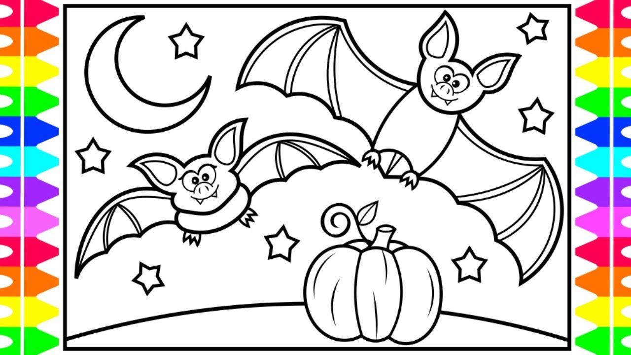 How to Draw HALLOWEEN Stuff for KIDS 🎃👻👀🦇Halloween Stuff ...