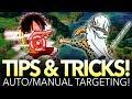 OPTC TIPS & TRICKS! How Auto/Manual Targetting Works! (One Piece Treasure Cruise)
