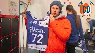 When Matt Entered The European Ice Climbing Championships | Climbing Daily Ep.1382