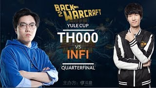Warcraft 3 - Yule Cup Quarterfinal: [HU] TH000 vs. Infi [HU]