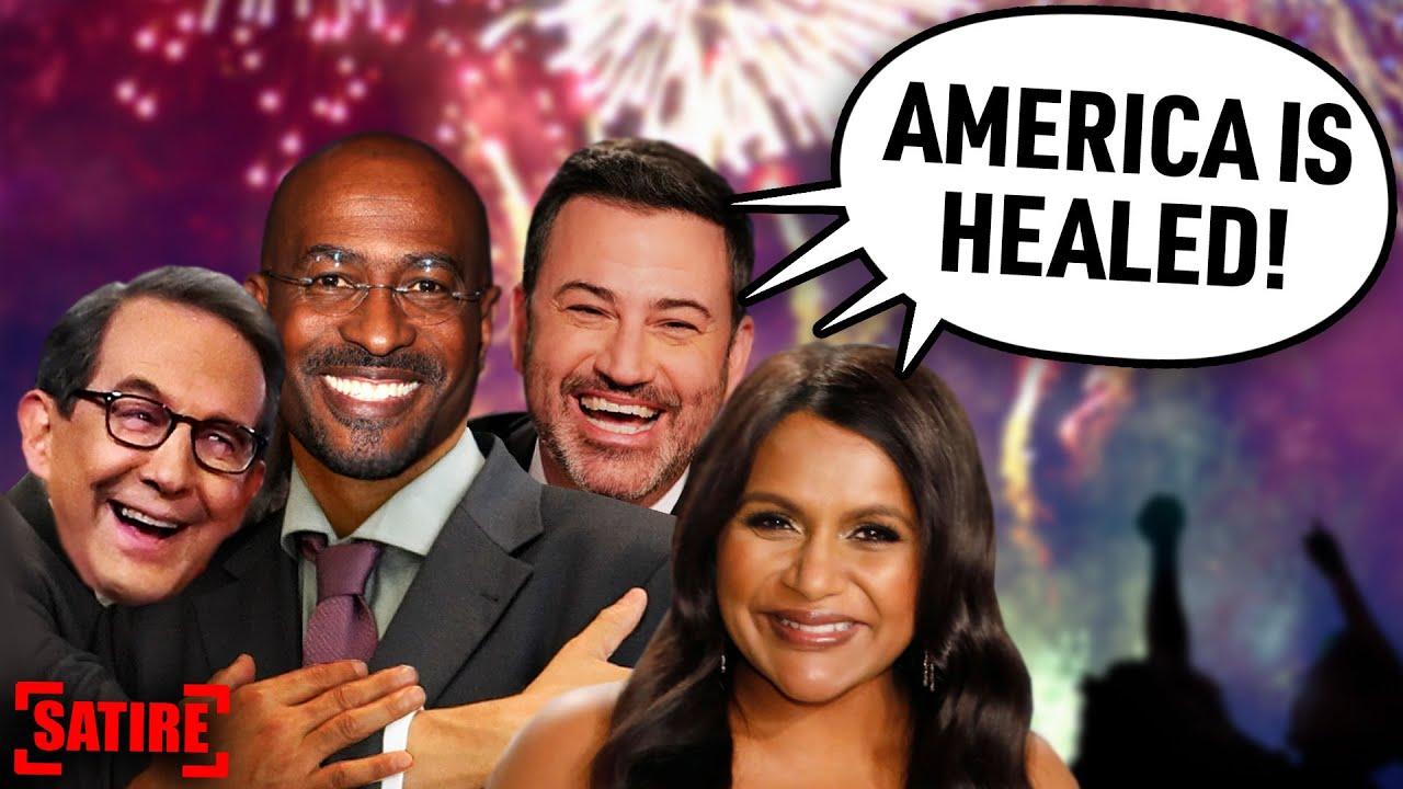 LOL: Media and Celebrities PRAISE Biden's Inaugural Speech