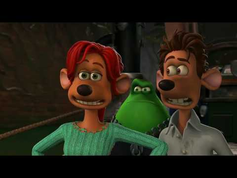 Flushed Away - Le Frog Scenes [Funny Moments]