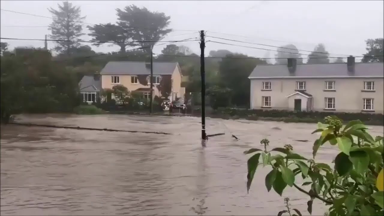 Ireland : Severe Flash Flooding in Clifden after Torrential Rain | Sep 2 2020