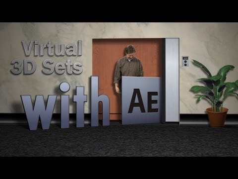 Virtual 3D Sets in After Effects