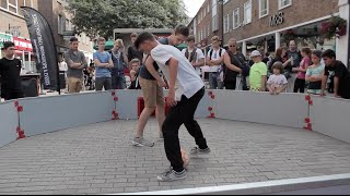 UK Street Football Panna Skills Compilation Canterbury 2015 #MINDTHEGAP | YO STREET ZONE