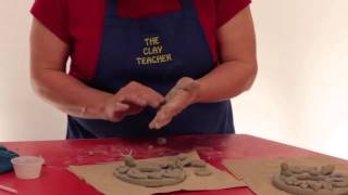 Make Air Dried Pottery Clay Picture Frames And Ornaments With The Clay Teacher