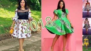 Trending Ankara Styles 2018 : Classical African Ankara Gown Styles