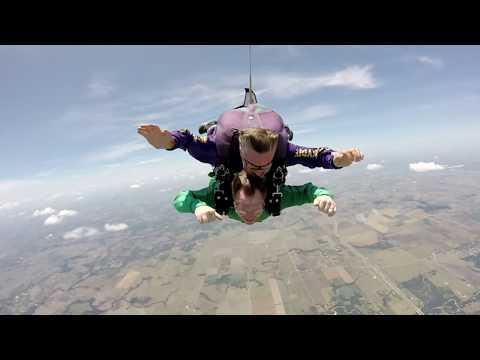 Michael Cronin - Skydiving Second Trip
