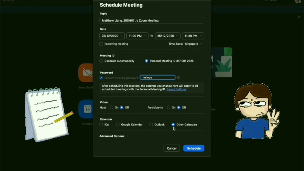 Zoom 2: Hosting a Zoom Meeting