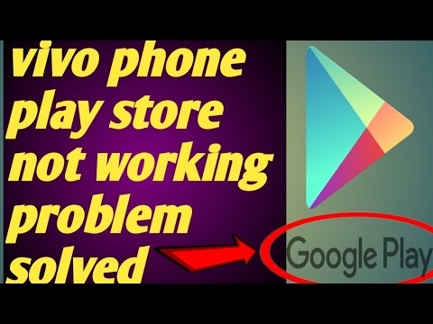 Vivo // phone play store not working problem solved 2020