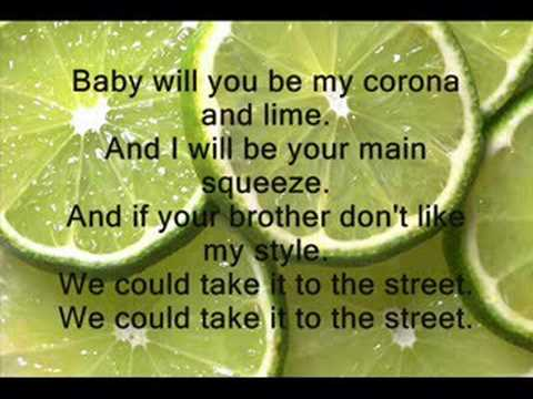 Shwayze-Corona And Lime // Lyrics