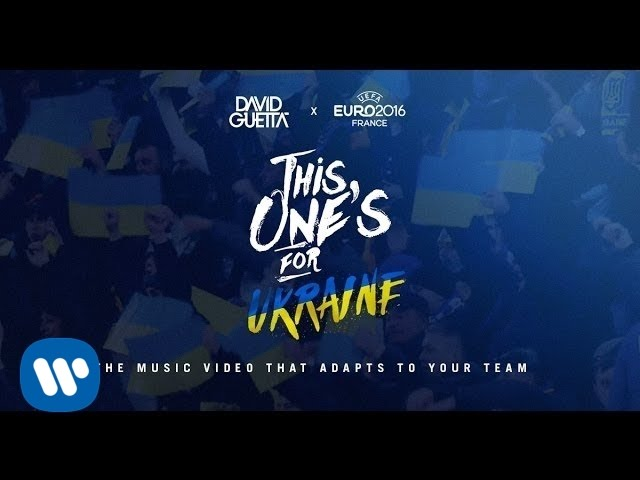 Download David Guetta ft. Zara Larsson - This One's For You Ukraine (UEFA EURO 2016™ Official Song)