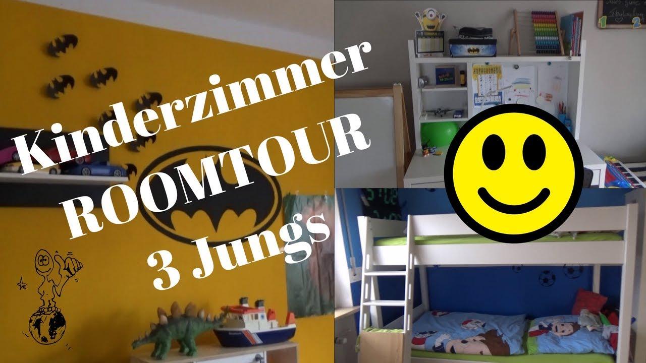 Roomtour Kinderzimmer   3 Jungs  Daniela4Family