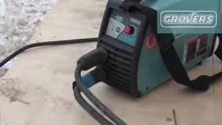Работа от генератора 5 кВт GROVERS ARC160 PFC