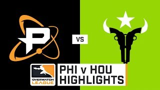 HIGHLIGHTS Philadelphia Fusion vs. Houston Outlaws | Stage 2 | Week 3 | Day 2 | Overwatch League