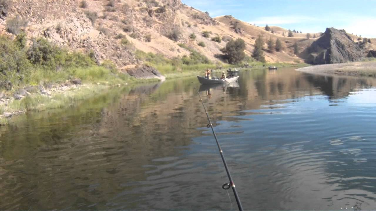 John day river smallmouth bass fishing youtube for John day river fishing