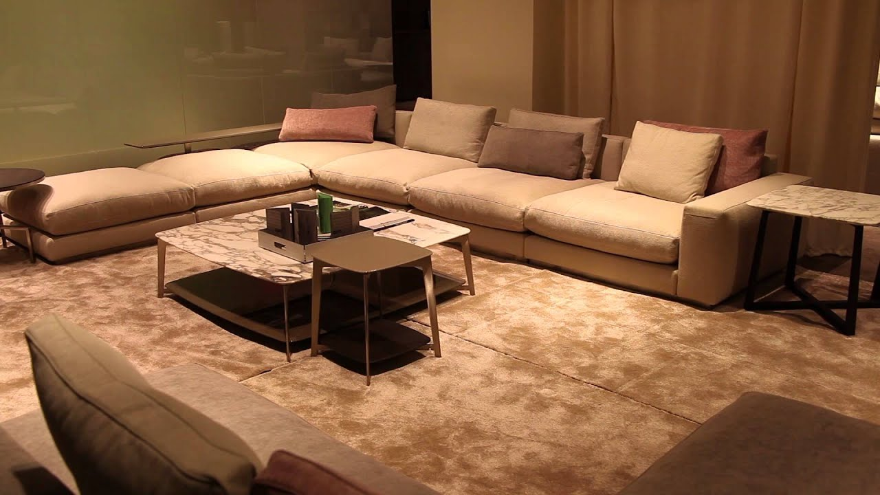 Unique Arrangement for an L-Shaped Living Room : Interior ...
