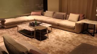 Unique Arrangement For An L-shaped Living Room : Interior Design Tips
