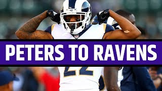 LA Rams Trade Marcus Peters To Baltimore Ravens for Kenny Young Reaction
