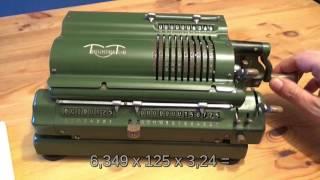 Triumphator Crn1 Mechanische Rechenmaschine