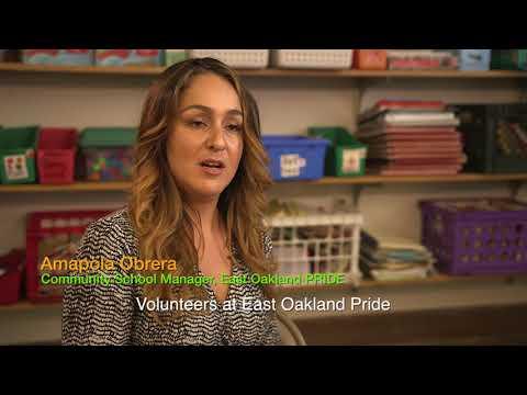 Oakland School Volunteers: East Oakland PRIDE