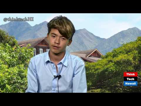 Parker Wagnild, student at Mid-Pac Institute, on Technology at his school