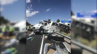 Four people died in a bus crash in Utah