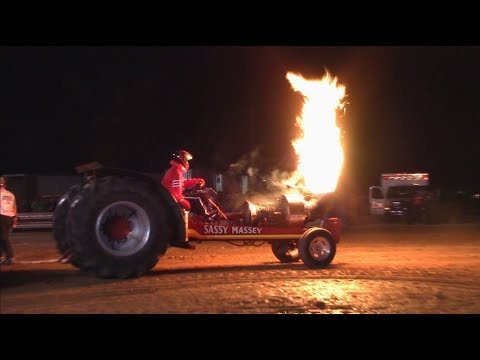 Tractor Pulls! 2017 Monroe County Fair Pull! NTPL