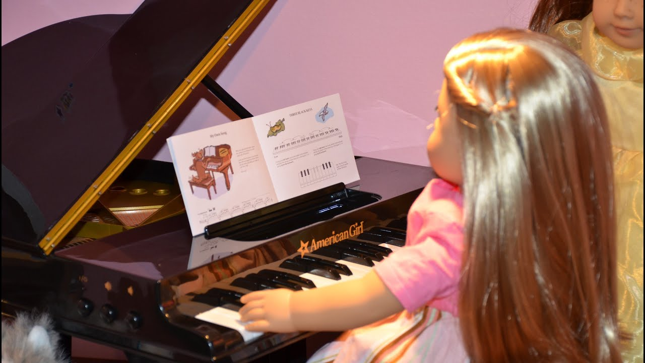 Baby Dolls Playing Youtube American Girl® Grand Piano Review Youtube