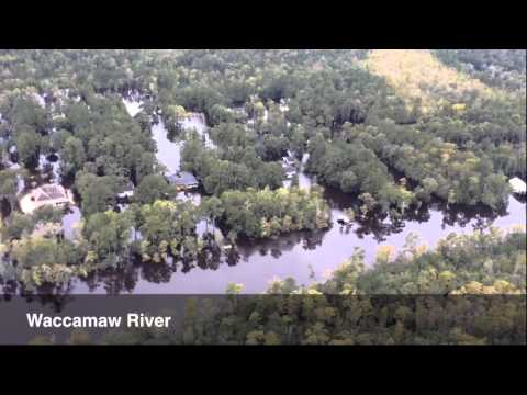 Aerial View of Horry County Flooding