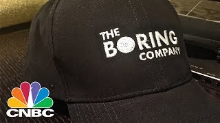 Elon Musk Claims His Boring Co. Tunneling Firm Has Raised $300,000 By Selling Hats | CNBC