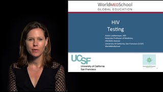 HIV Diagnosis by A Luetkemeyer, University of California San Francisco