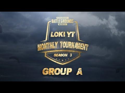 PUBGM | Loki YT Monthly Tournament 3rd Edition Group B