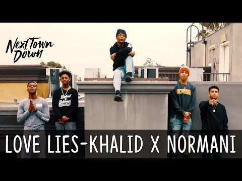 Love Lies - Khalid x Normani - Next Town Down Cover