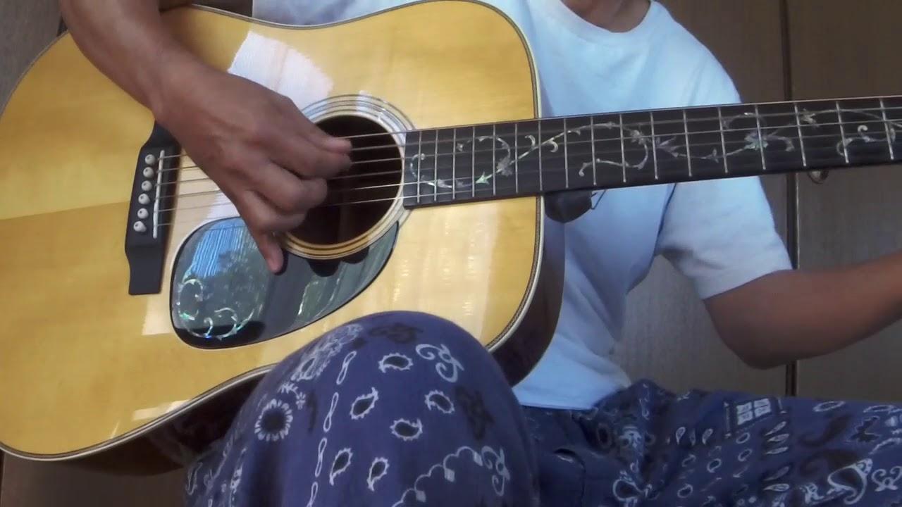 さだまさし「線香花火」ギター弾き語り