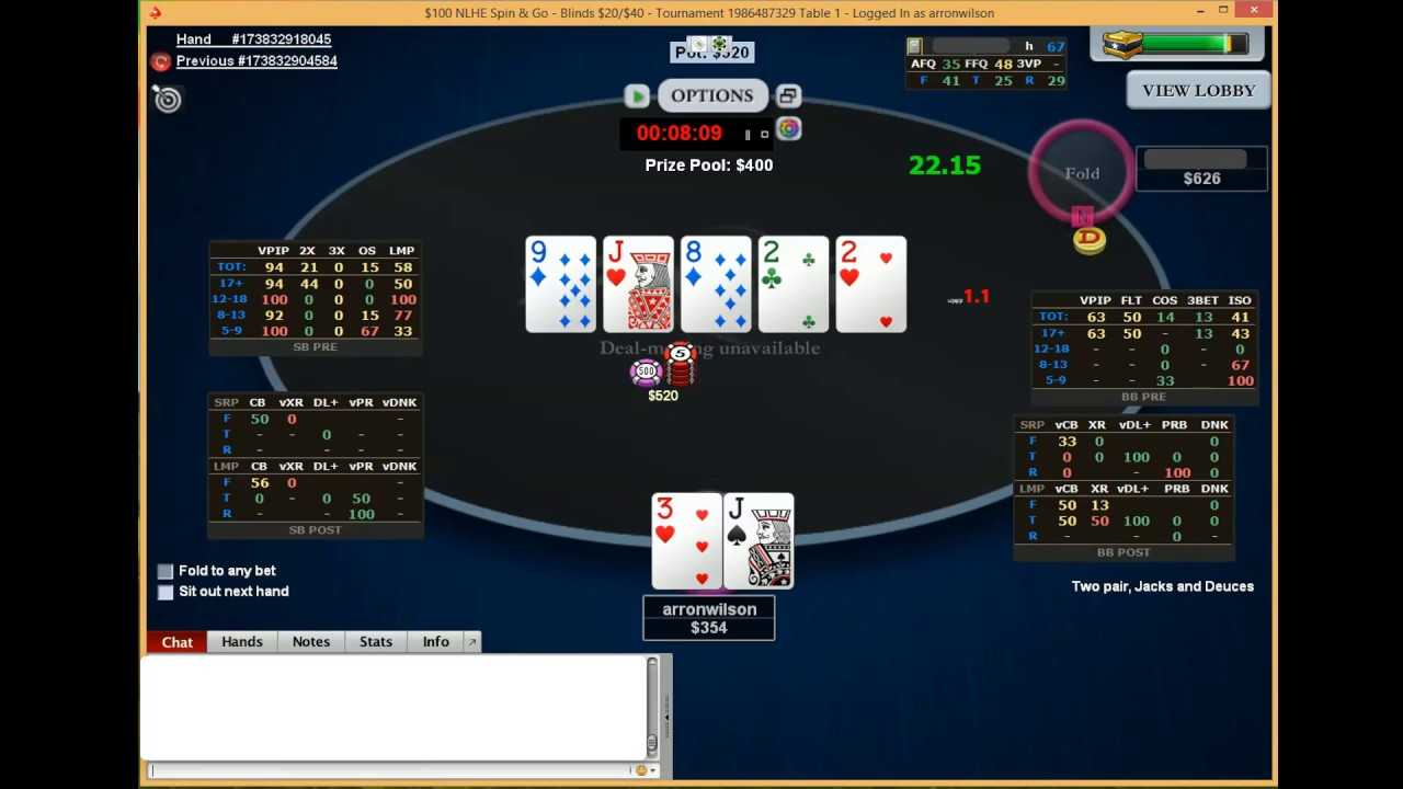 Pokerstars Hud