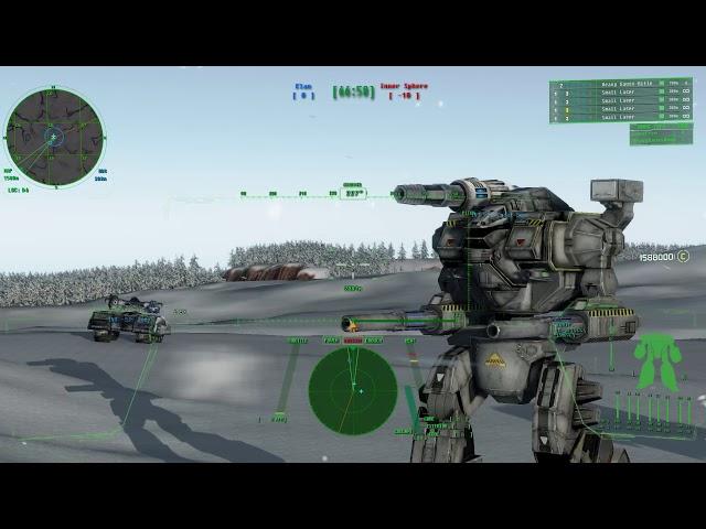 Mechwarrior Living Legends Chaos March B464 Saiph Attack Terracap Map 4 MGT V05 Skip to End