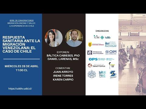 Conversatorio | Respuesta sanitaria ante la migración venezolana: El caso de Chile