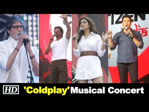 COLDPLAY Musical Concert | B-town Goes CRAZY