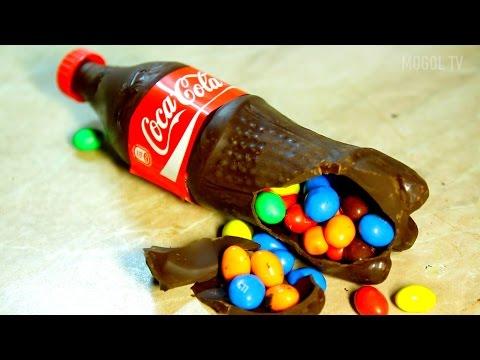 ШОКОЛАДНАЯ КОКА КОЛА с Сюрпризом. МЕГА крутая Coca Cola