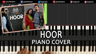 Hoor Hindi Medium|Song|Atif Aslam|Piano Tutorials Chords Lesson Instrumental Popular by Ganesh