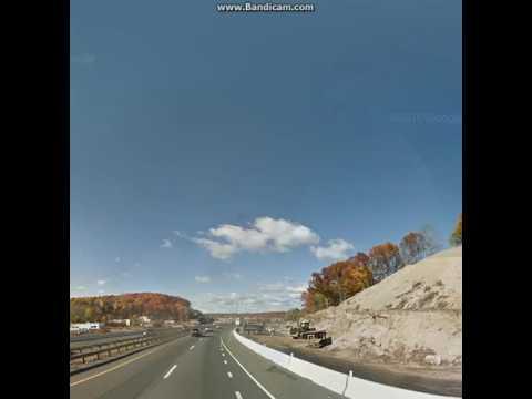 Google Maps Streetview Player: Woonsocket, RI to Newburgh, NY