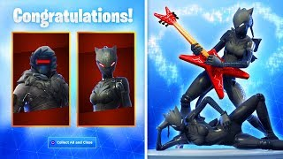 *NEW* FORTNITE FREE REWARDS 2019! (Black Lynx Skin with All Fortnite Emotes)